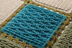 Cabled crochet