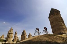 cycling tour in Cappadocia • article with other ideas for unusual way to explore Turkey