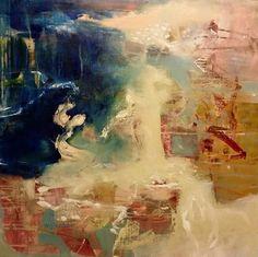 """Acrylic on Canvas  24"""" x 24""""  Leslie Newman"""