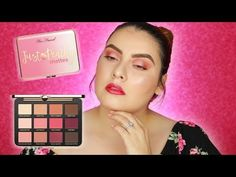 Too Faced Just Peachy, Happy Wednesday, War Paint, Eyeshadow Palette, Swatch, Budgeting, Eye Makeup, Hair Care, Blush