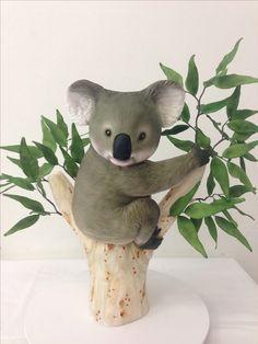 Koala cake to celebrate Australia Day 2014 by handi's cakes