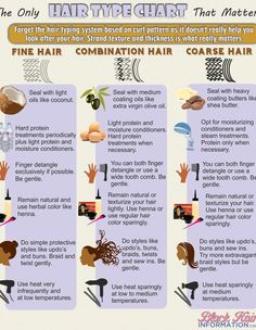 The only hair type chart that matters infographic-  Hmmm  What do you think?  By the way, my low porosity hair is fine with medium weight even though it is...