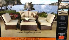 Kirkland Signature Commercial Sling Chaise Lounge Costco Frugalhotspot Outdoor Furniture