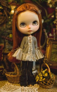 Sweet Freedom. Bohemian Top For Blythe Doll