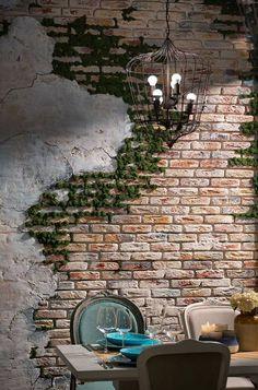 Cafe Wall Decor for your inspiration - Alex Hollowell - . - Şerare Özen Kocasoy - BuyThenNow - Cafe Wall Decor for your inspiration – Alex Hollowell – shop – Ş - Creative Wall Decor, Cheap Wall Decor, Creative Walls, Pallet Wall Decor, Home Wall Decor, Outside Wall Decor, Brick Wall Decor, Diy Pallet, Pallet Ideas