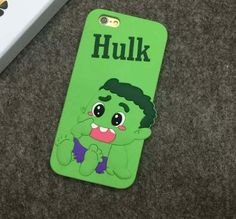 Hulk Silicon iPhone Cover - World of Captain