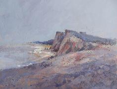 Acrylic Painting of Weybourne , Norfolk