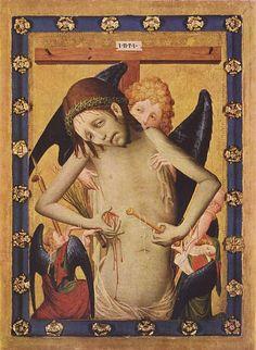 Man of Sorrows, ca. 1430, Meister (Brother) Francke (1380-1430)