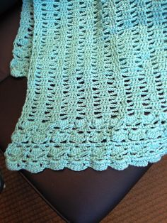 Friendship Prayer Shawl, Dover Air Force Base - Free pattern on Red Heart
