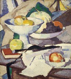 Still Life with Melon, Samuel John Peploe