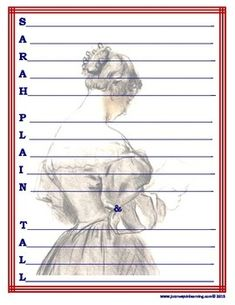 FREE ACROSTIC!  Sarah, Plain and Tall by Patricia MacLachlan, is a novel about a girl named Anna whose mother died the day after her brother, Caleb was born...and much, much more!Use this acrostic template as a character portrait for Sarah or to summarize the novel.Character trait sheet included.  CHECK OUT THE CULMINATING ACTIVITY IN OUR STORE!
