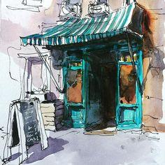 Old Shop Façade