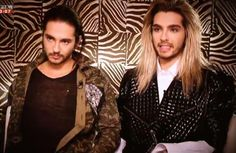 Tom and Bill Kaulitz....new looks.