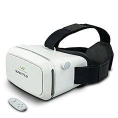 5cfec77489eb SUNNYPEAK Google Cardboard V2 Virtual Reality Headset 3D Movie Games  Glasses VR Headset Immersive 360 Viewing
