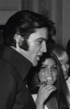 Elvis and Priscilla at Sinatra show. Elvis Presley Priscilla, Elvis Presley Family, Lisa Marie Presley, Elvis Presley Quotes, Rock N Roll, Gorgeous Men, Beautiful, Steve Mcqueen, Graceland