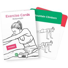Self Care: Exercise Cards Bodyweight for Women