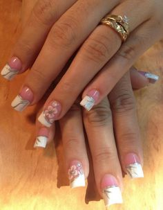 Acrylic nails by Giselle