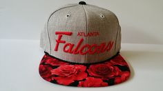 Mitchell and Ness NFL Atlanta Falcons Custom Snapback Cap, Hat : Roses, Price: $64.95 http://amzn.to/2kjzWiK