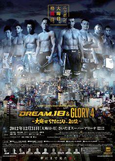 Glory gibt für Dream 18 weitere Kämpfe für 31.12.2012 bekannt