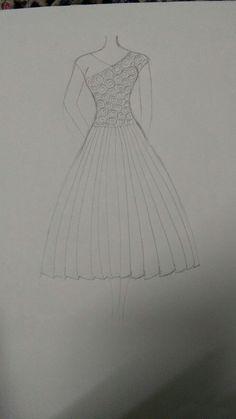 Fashion Figure Drawing, Fashion Model Drawing, Fashion Drawing Dresses, Fashion Illustration Dresses, Fashion Design Books, Fashion Design Sketchbook, Fashion Design Drawings, Fashion Sketches, Dress Design Drawing