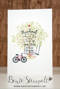Bente Stempelt : kleine Herzensdinge Im Herzen und Baum der Freundschaft