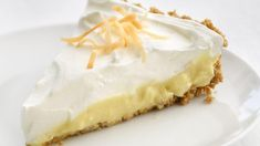 Coconut Cream Pie recipe from Icarly :O Icarly, Pie Recipes, Dessert Recipes, Cooking Recipes, Pastry Recipes, Dessert Ideas, Toasted Coconut, Coconut Cream, Grains