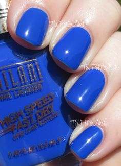 Milani High Speed Fast Dry Polishes for Spring 2014