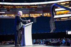 2013 Budweiser Gala Host Pat Williams, Senior Vice President for the Orlando Magic