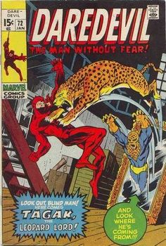 Daredevil #72 - Lo! The Lord Of The Leopards!