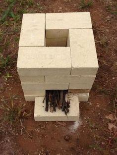 Brick Rocket Stove by nihat.varli1