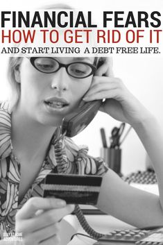 Fearing your finances is not good at all. You need to get rid of your financial fears and start discover a new and better way of living.