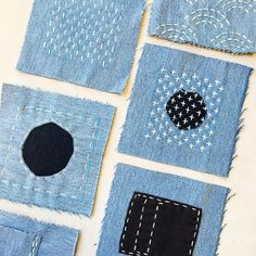 April 13: Japanese Sashiko Clothing Mending Workshop