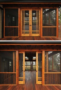 Interesting Sliding Porch Doors 28 Ideas for sliding barn door exterior screened porches sliding Screened Porch Doors, Screened Porch Designs, Screened In Deck, Front Porch, Porch And Patio, Back Porch Designs, Slide Screen, Living Pool, Outdoor Living