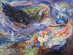 earth angel mural josephine wall murals your way buy cheap lots from china