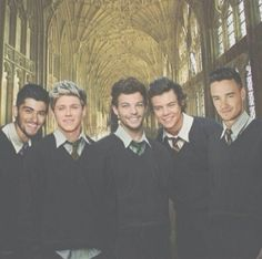 one direction in hogwarts