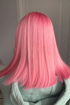 20 Hair Color Trends Worth Trying   Purple, Candy Pink Hairstyles