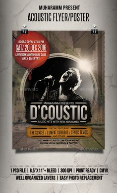 Acoustic Flyer / Poster