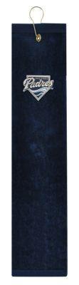 McArthur Sports MLB Embroidered Tri-Fold Golf Towel - San Diego Padres