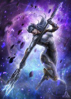 Proxima Midnight, Marvel Dc, Marvel Comics, Black Order, Infinity War, Avengers, Marvel Characters, Hero, Fan Art