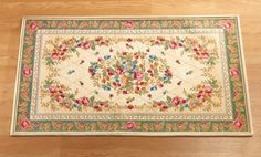 Tiffany Floral Chenille Rug