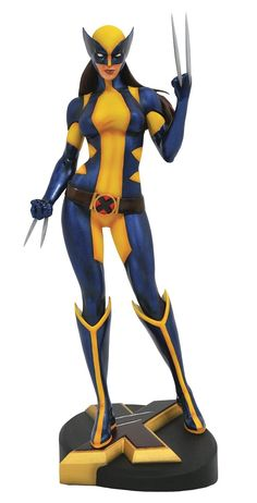Amazon.com: Diamond Select Toys Marvel Gallery: X-23 Wolverine Pvc Figure: Toys & Games