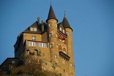 Katz Castle in the Rhine Valley - Up high by Johan_Leiden, via Flickr