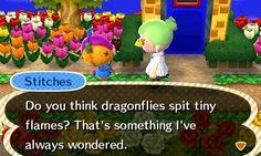 Animal Crossing New Leaf - Stitches