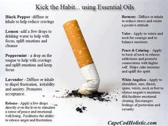 Stop Smoking Using Essential Oils