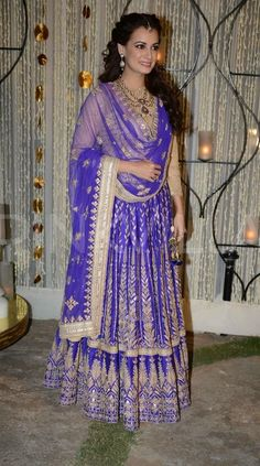 Dia Mirza's engagement