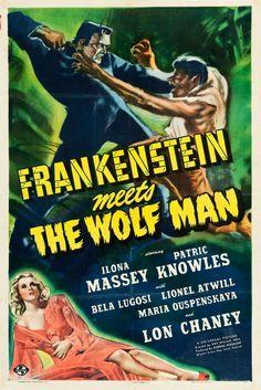 Frankenstein Meets the Wolf Man (Universal, 1943)