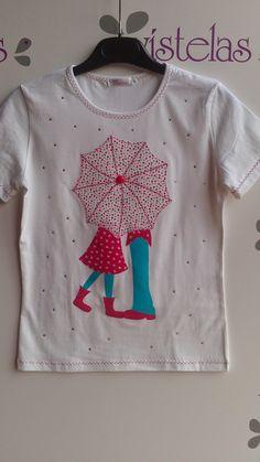 Sewing Appliques, Applique Patterns, Applique Designs, Embroidery Applique, Embroidery Designs, Sewing Clothes, Diy Clothes, T Shirt Painting, Girls Quilts