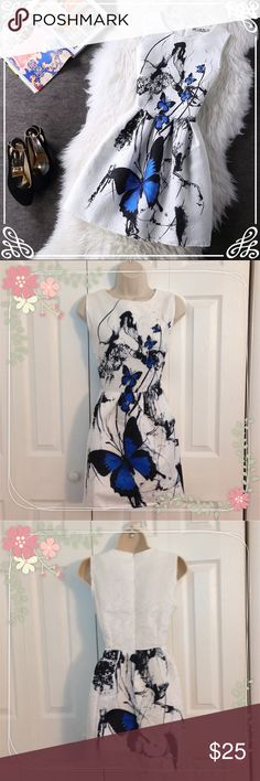 Floral Summer Dress NWT. Floral Summer Dress. Perfect for Easter or a day out. Beautiful pattern and material. Size Large. These do run small so I suggest ordering down. This can fit a small/medium. Please refer to measurement chart. Material COTTON, and POLYESTER. Dresses Midi