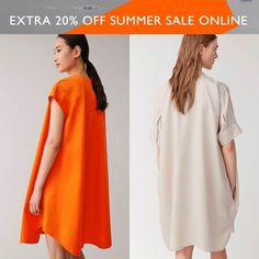 COS Season Sale up to 70% off + extra 20% off with code: EXTRA20 Short Sleeve Dresses, Dresses With Sleeves, 20 Off, Summer Sale, Cos, Seasons, Fashion, Gowns With Sleeves, Moda