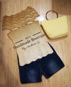 Beautiful gold blouse Gold Blouse, Crochet Top, Diva, Boutique, Handmade, Beautiful, Women, Fashion, Moda